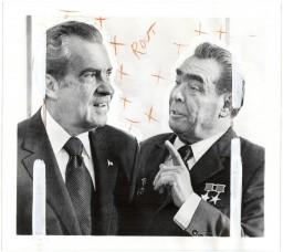 David Birkin - Iconographies, Nixon-Brezhnev (2013)